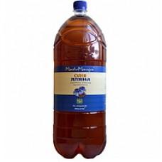 Льняное масло 3 л ТМ Масломания